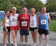 80th Annual Tely 10 – with Family