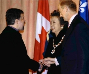 Right Honourable Adrienne Clarkson and her husband John Ralston-Saul