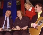 Jim Sanders, Jeff Healey and Sen Fairbank