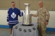 2007 Afghanistan – Lt. Col. Ed Staniowski, & Stanley Cup